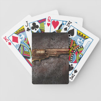 Gun - Model 1851 - 36 Caliber Revolver Bicycle Playing Cards