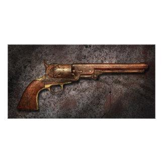 Gun - Model 1851 - 36 Caliber Revolver Photo Card