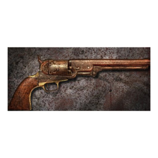 Gun - Model 1851 - 36 Caliber Revolver Custom Rack Cards