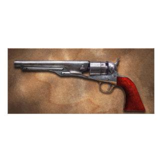 Gun - Model 1860 Army Revolver 10 Cm X 23 Cm Rack Card