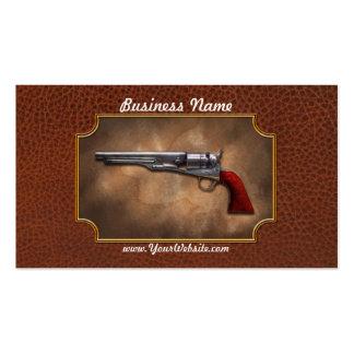 Gun - Model 1860 Army Revolver Business Card