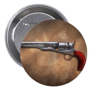 Gun - Model 1860 Army Revolver Buttons