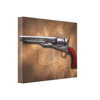 Gun - Model 1860 Army Revolver Stretched Canvas Prints