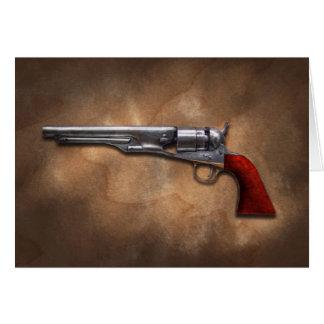 Gun - Model 1860 Army Revolver Greeting Card