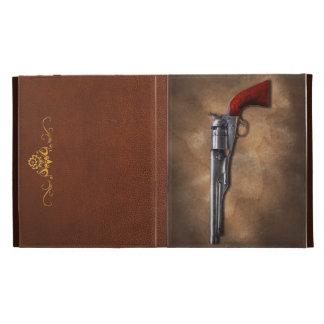 Gun - Model 1860 Army Revolver iPad Folio Covers