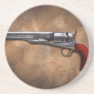 Gun - Model 1860 Army Revolver Drink Coasters