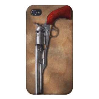 Gun - Model 1860 Army Revolver iPhone 4 Covers