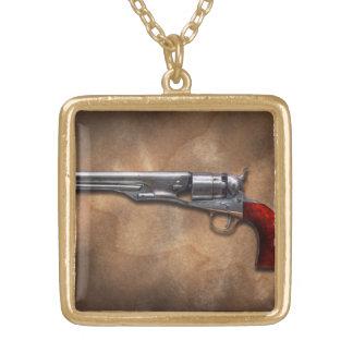 Gun - Model 1860 Army Revolver Custom Jewelry