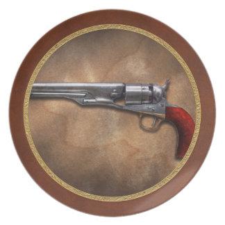 Gun - Model 1860 Army Revolver Plate