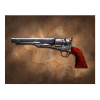 Gun - Model 1860 Army Revolver Postcard