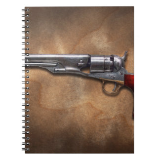 Gun - Model 1860 Army Revolver Spiral Notebook