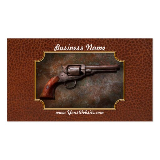 Gun - Police - Dance for me Business Cards