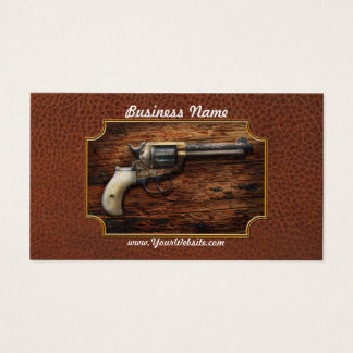 Gun- Police - True Grit Business Card