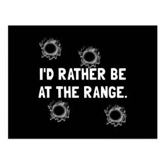 Gun Range Postcard