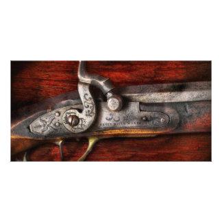 Gun - Rifle Works Photo Card