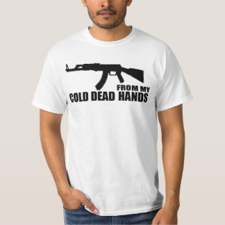 GUN RIGHTS 'FROM MY COLD DEAD HANDS' T-Shirt
