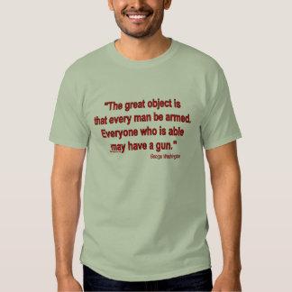 Gun rights - George Washington T Shirt