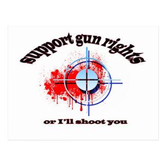 Gun Rights Postcard