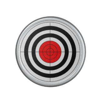 gun shooting range bulls eye target symbol bluetooth speaker
