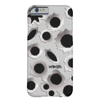 Gun Shots Holes iPhone 6 Case