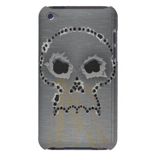 Gun Shots Holes Skull iPod Case Case-Mate iPod Touch Case