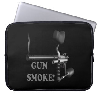 Gun Smoke Computer Sleeve