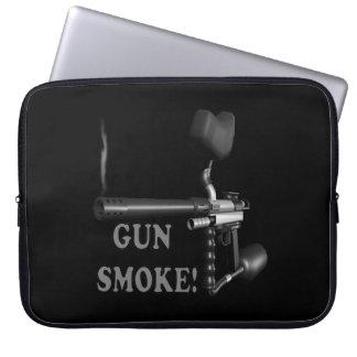 Gun Smoke Laptop Sleeve