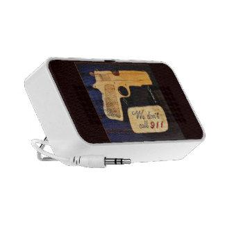 Gun Notebook Speakers