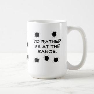 Gun Target Shooting Range Coffee Mug