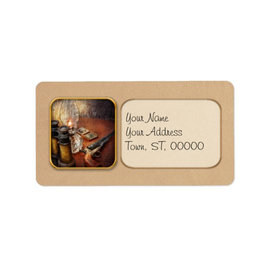 Gun - The adventures code Address Label