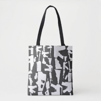 Gun Toting Tote Bag