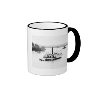Gunboat Commodore Perry: 1860s Mugs