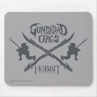 Gundabad Orcs Movie Icon Mouse Mat