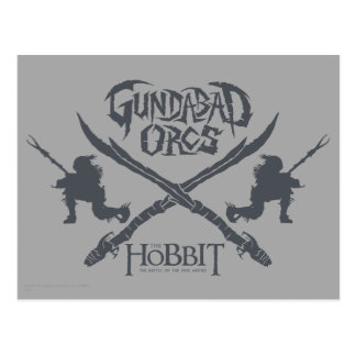Gundabad Orcs Movie Icon Postcard