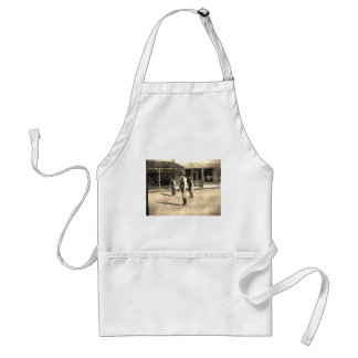 Gunfight Ready Vintage Old West Adult Apron