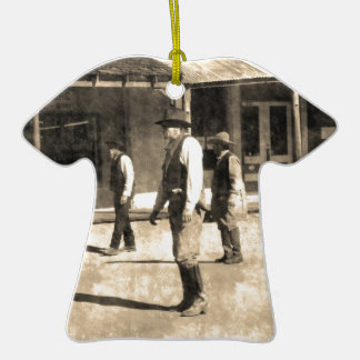 Gunfight Ready Vintage Old West Ornaments