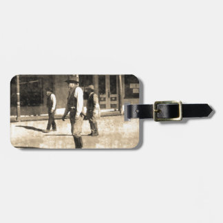 Gunfight Ready Vintage Old West Tag For Bags