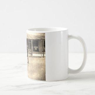 Gunfight Ready Vintage Old West Classic White Coffee Mug