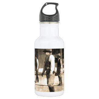 Gunfight Ready Vintage Old West 18oz Water Bottle