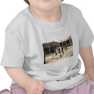 Gunfight Ready Vintage Old West T Shirts