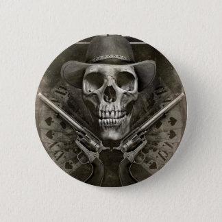 Gunfighter 6 Cm Round Badge