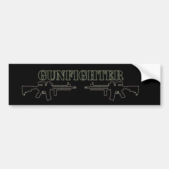Gunfighter Bumper Sticker