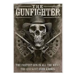 Gunfighter Greeting Cards