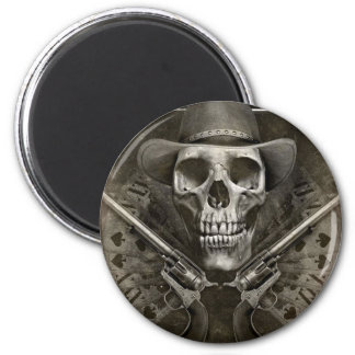 Gunfighter Fridge Magnet