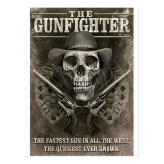 Gunfighter Postcard