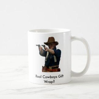 gunfighterMe, Real Cowboys Gift Wrap? Coffee Mug