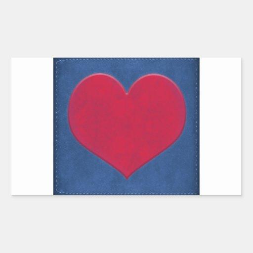 Gunge Heart Illustration Sticker