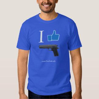 GunLink I Like 1911 Pistols, Thumbs Up Tshirt