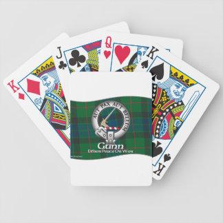Gunn Clan Bicycle Playing Cards