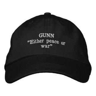 Gunn Clan Motto Embroidered Hat